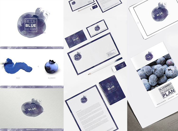 httpswww.behance.netgallery20495641BlueBlueBerry