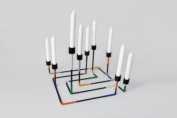 labyrint kandelaar