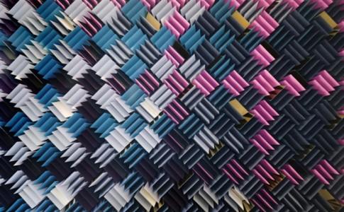 textuur acoustisch muurkleed