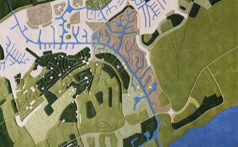 Landschaps tapijt