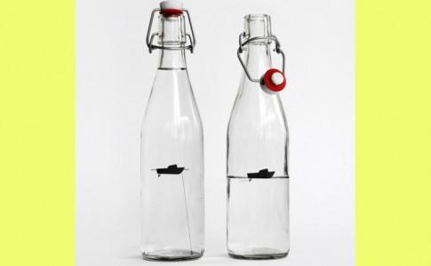 flessenbootjes