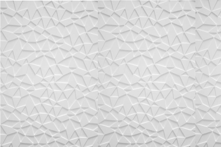 muurdesign driehoekjes