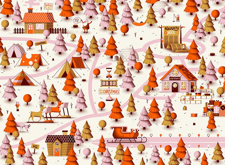 Feestelijk Kerstdorp