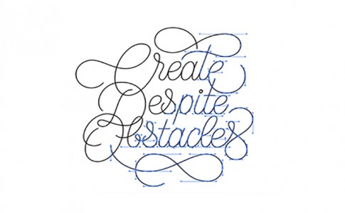 create despite obstacles