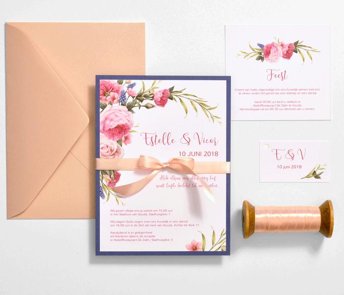 gestylde-trouwkaart